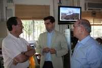 Javier Cuenca agradece el trabajo realizado por el Centro Operativo Provincial en la extinción del incendio de Hellín