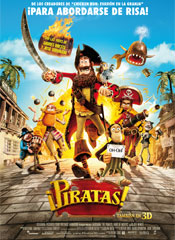 ¡Piratas! - Cartel