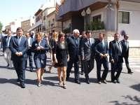 Cerca de un centenar de personas despiden al agente medioambiental fallecido en Torremanzanas (Alicante)