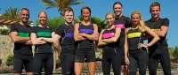 Fuerteventura acoge el reality deportivo 'Superstars celeb' con famosos de Suecia