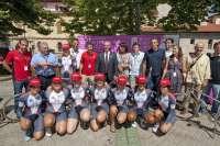 La campaña 'Bicis que cambian vidas' de la Fundación Vicente Ferrer llega a Pamplona
