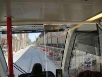 CHA pide un Plan especial de educación vial para la zona del Coso por la que circula el tranvía