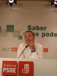 PSOE-A pide al PP que no haga un