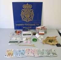 La Policía Nacional detiene a un traficante de drogas en Santa Cruz de Tenerife