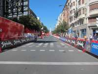 Eibar (Gipuzkoa) registra restricciones al tráfico con motivo de la tercera etapa de la Vuelta a España