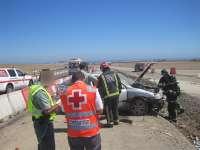 Un total de 8 heridos, dos de ellos graves, en 6 accidentes de tráfico ocurridos el pasado fin de semana