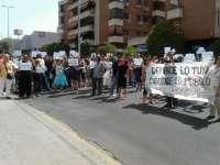 Comienza la Mesa Sectorial de Función Pública con más de 200 personas en la puerta pidiendo la dimisión de Esteban