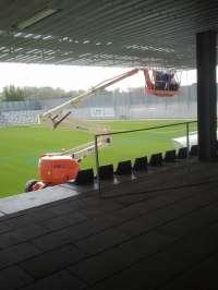 PP de Alcalá de Guadaíra critica que el campo de fútbol 'Ciudad de Alcalá'