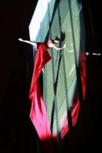 Circo Delicia trae a Pamplona un espectáculo de danza contemporánea, clásica, urbana, tango y salto acrobático