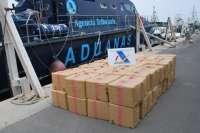 Ingresan en prisión tres ciudadanos italianos detenidos con 2,6 toneladas de hachís en Adra