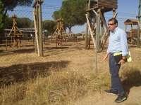 Puente (PSOE) critica el cierre de Los Talleres del Pinar en agosto y compara el parque con el aeropuerto de Castellón