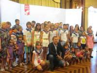 Los niños de Chernóbil se despiden este domingo de sus vacaciones de verano en Bizkaia