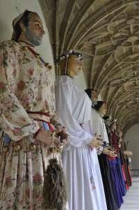 El museo San Telmo de San Sebastián acoge una exposición de los gigantes de la comparsa Itzurun