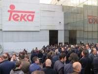Trabajadores de Teka valoran el anuncio de Nestor Martin como un