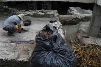 Arrancan los trabajos de limpieza de las termas romanas halladas en la costa de Almuñécar
