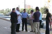 El Ayuntamiento habilita una nueva zona de aparcamientos limitado en Jardines de Hércules