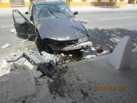 Denuncian a un menor de 15 años por conducir un coche que acabó siniestrado en La Palma del Condado
