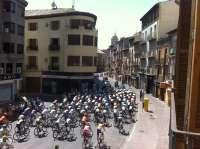 Serrat valora el paso de la Vuelta a España por Aragón como una oportunidad de promoción
