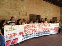 Catorce empleados de Paradores se encierran en el de Toledo para exigir a la empresa que negocie el convenio