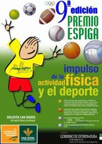 Caja Rural de Extremadura pone en marcha sus IX Premios Espiga Impulso de la Actividad Física y el Deporte