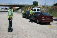 La Guardia Civil detiene en la última semana a cuatro conductores por dar positivo en controles de alcoholemia