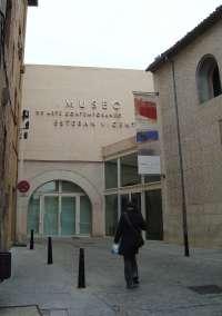 Una donación de Abertis Autopistas y Ambientair salva del cierre temporal al Museo Esteban Vicente de Segovia
