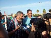 Finaliza la marcha del SAT en el recinto ferial de Puerto Real e imputan dos delitos a los 11 detenidos