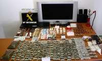 La Guardia Civil desarticula en Tomelloso cuatro puntos de venta de droga y detiene a ocho personas