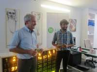 El proyecto 'Bingo Urban Tour' de Javier Peña seleccionado por el Instituto Cervantes entre más de 200 candidaturas