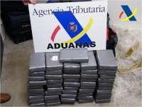 Intervenidos 51 kilos de cocaína oculta en un contenedor del puerto
