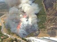 Los tres incendios de Sorauren pudieron ser intencionados, según la Policía Foral