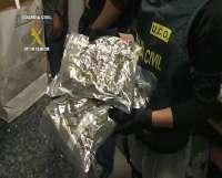 Detenidas cuatro personas y desarticulado en Meis (Pontevedra) un laboratorio de elaboración y distribución de drogas