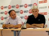 CCOO y UGT piden a Casero que convoque la Comisión Regional de Empleo para tratar el Plan Prepara y el problema del paro