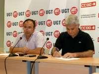 Sindicatos de C-LM no van a renunciar a la posibilidad de dialogar con el Gobierno regional