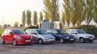Opel celebra el 30 aniversario del 'español' Corsa, que se fabrica en Figueruelas (Zaragoza)