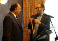 Miguel Sánchez recibe la Medalla de Oro Empresarial como reconocimiento a su trayectoria profesional