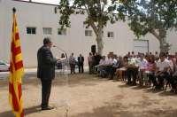 Reñé inaugura las fiestas de El Palau d'Anglesola (Lleida) con la lectura del pregón
