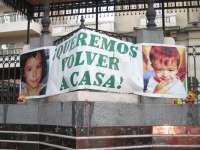 La Plaza de las Monjas acoge este viernes una concentración de apoyo a la madre de Ruth y José