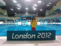 La nadadora emeritense Isabel Yinghua participará en varias pruebas de los Juegos Paralímpicos de Londres