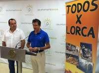 Jódar recibe una ayuda solidaria de 6.033 euros por parte de los promotores de la gira 'Todos X Lorca'