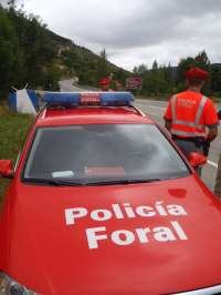 Un total de 104 agentes de la Policía Foral reforzarán la vigilancia de las carreteras por la operación salida-retorno