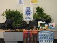 Detenidas tres personas en Medina del Campo (Valladolid) e incautados nueve kilos de plantas de marihuana