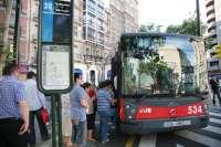 El horario de 'invierno' del transporte urbano se aplicará desde este sábado