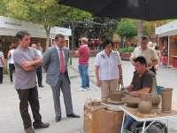 La I Muestra Artesana reúne a 12 artesanos en Santo Domingo hasta el 11 de septiembre, dentro actividades Feria Murcia