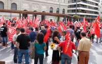 Los sindicatos hacen un llamamiento para la marcha contra los recortes del 15 de septiembre en Madrid