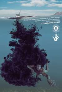 Imprimen un total de 5.000 postales contra el petróleo en aguas de Lanzarote y Fuerteventura