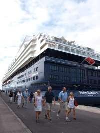 El puerto de Santa Cruz de Tenerife inaugura la temporada de cruceros con 29.500 visitantes en septiembre