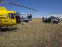 Evacuada una mujer de 81 años tras sufrir una caída en las Hoces del Duratón, en Sepúlveda (Segovia)