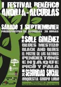 Sole Giménez y Seguridad Social ofrecen este sábado un concierto solidario en Alcublas
