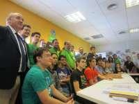 Un total de 20 alumnos de FP realizan prácticas en Leroy Melín para mejorar su formación